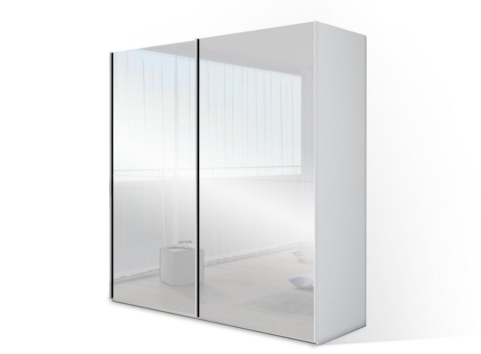 zweefdeurkast yourreflection - spiegel schuifdeuren - 150cm tot