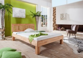 massief houten beuken bed