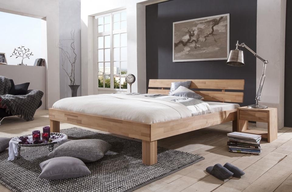 Massief Houten Bed 140x200.Massief Houten Tweepersoonsbed Ibiza Bedroomshop Nl