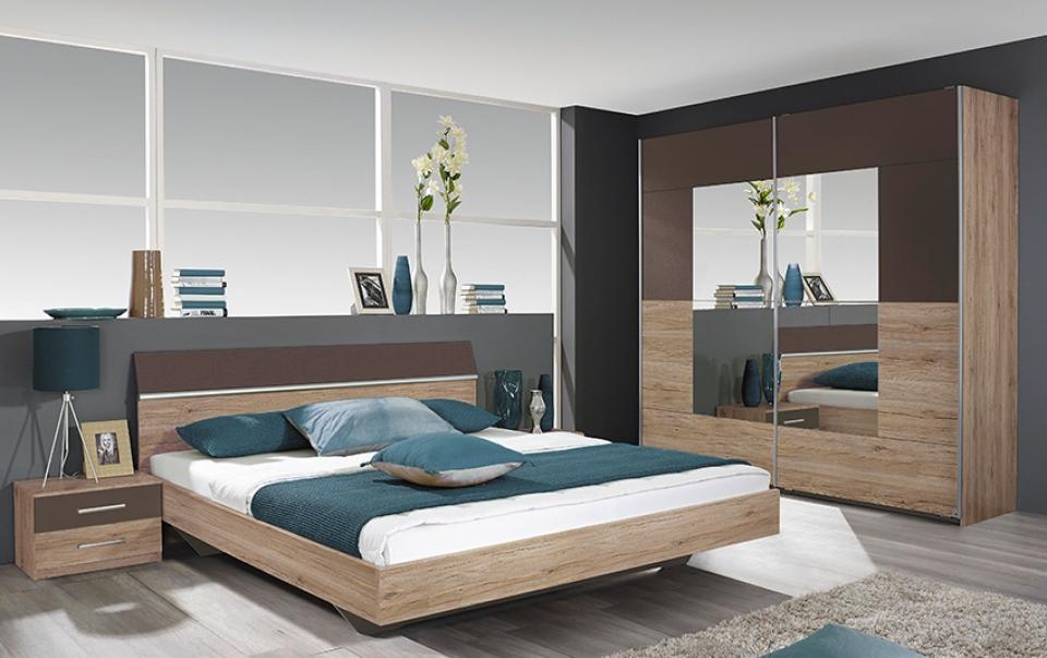 Moderne en complete slaapkamer oslo i bedroomshop for Slaapkamer bed