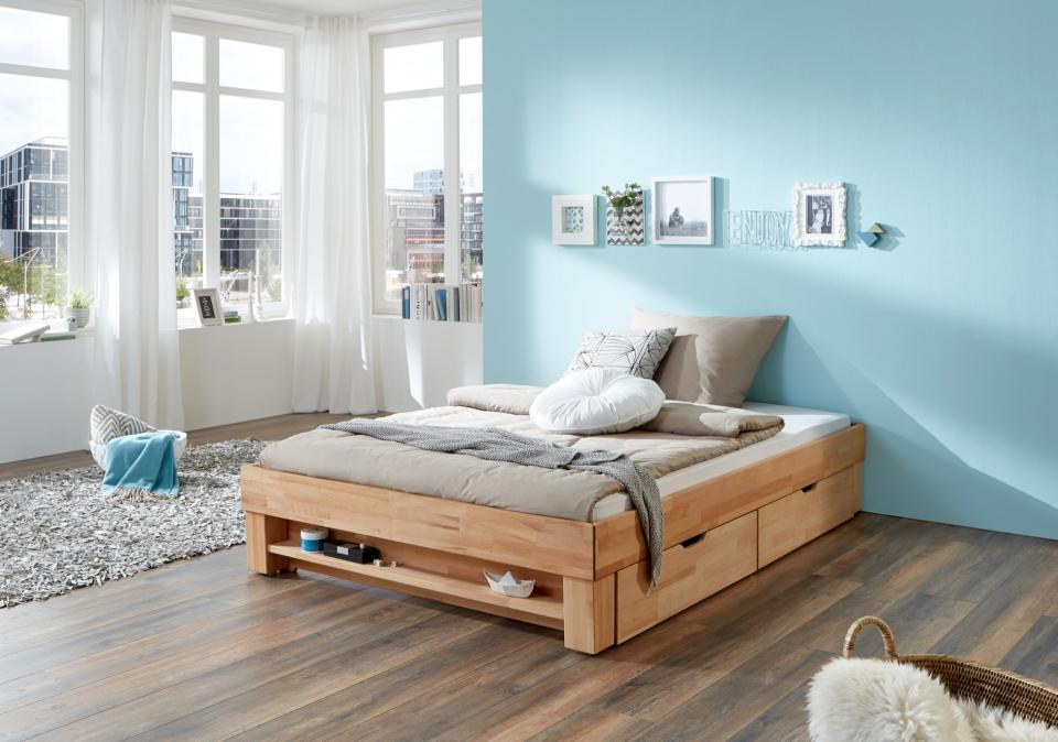 Verwonderlijk Tweepersoonsbed met opbergladen | Bedroomshop CA-76
