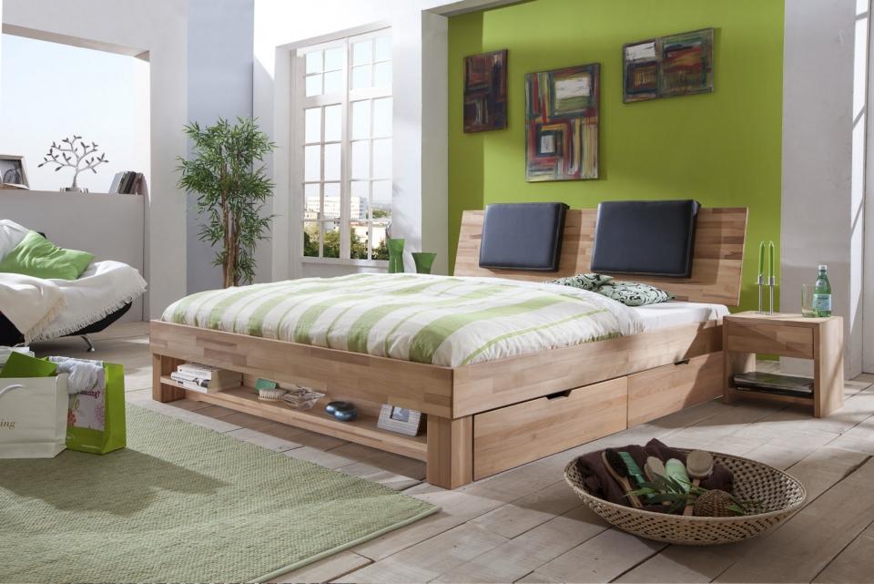 Massief Houten Bed 160x200.Tweepersoonsbed Havana Massief Hout Bedroomshop